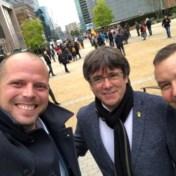 300 betogers betuigen in Brussel steun aan Catalaanse separatisten
