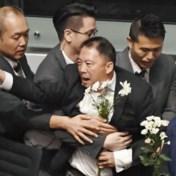 Speech Carrie Lam twee dagen na elkaar onderbroken door protest van oppositie