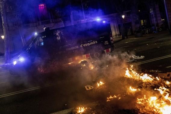 Opnieuw onrustige nacht in Barcelona