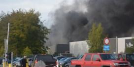 Zware brand treft Recticel in Wetteren