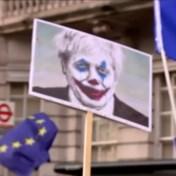 Tienduizenden betogers komen op straat tegen Brexit