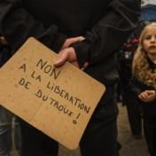 Vierhonderd betogers in Brussel voor zwarte mars