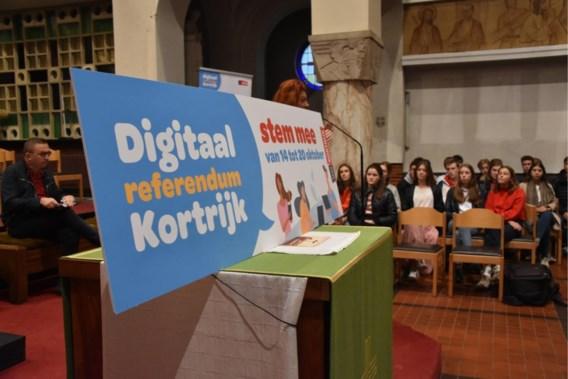 Kortrijkzanen stemmen tegen maandelijkse autovrije zondag