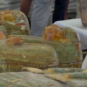 Grootste vondst van sarcofagen in een eeuw tijd voorgesteld