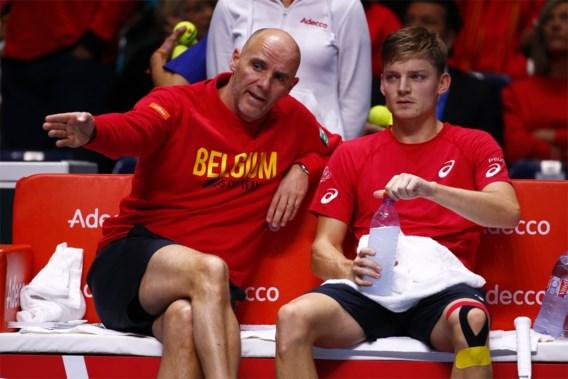 """Kapitein Johan Van Herck maakt Belgische selectie voor finaleweek Davis Cup bekend: """"Drive en teamspirit grootste troeven"""""""