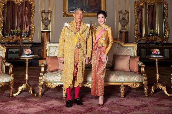 Officiële minnares van Thaise koning is adellijke titel alweer kwijt
