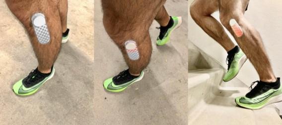Beter dan sporthorloge: Vlaming ontwikkelt patch die toont of je wel goed aan het lopen bent
