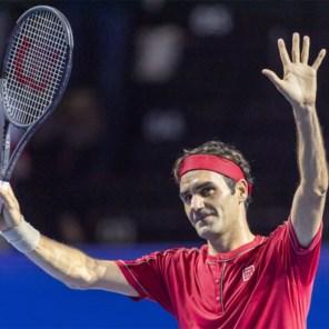 Roger Federer wint met glans zijn 1.500ste wedstrijd