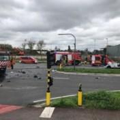 Drie zwaargewonden bij ongeval tussen politiewagen en vuilniswagen op Antwerpse Noordersingel