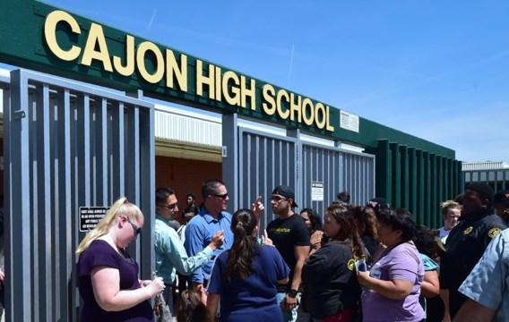 Eén gewonde bij schietpartij in Californische school