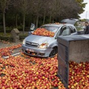 5.000 kilo appelen kwijt en dan op de vlucht