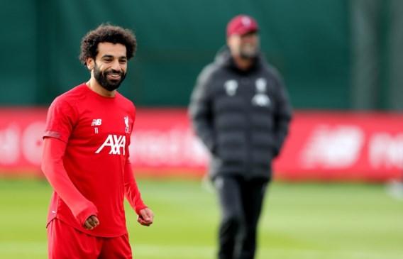 Mohamed Salah maakt trip mee naar Genk maar is nog twijfelachtig voor Champions League-wedstrijd met Liverpool