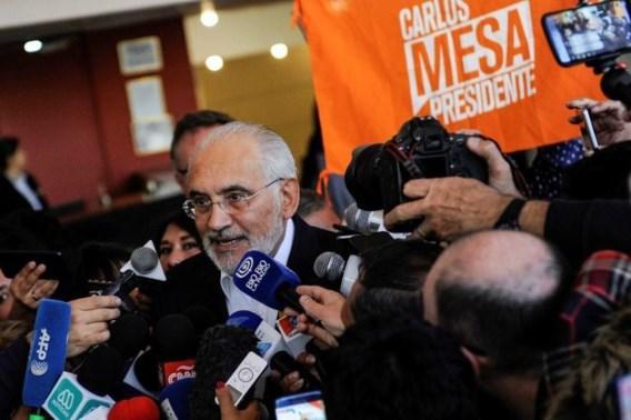 Boliviaanse presidentskandidaat Mesa beschuldigt regering van manipulatie verkiezingsresultaten