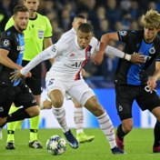 Club Brugge botst tegen PSG op zijn limiet