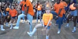 Video van flashmob op Antwerps festival gaat viraal