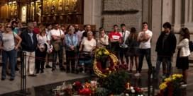 Franco verlaat de Valle de los Caídos