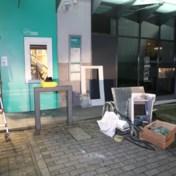 Plofkraak in automaat van bankkantoor in Stabroek