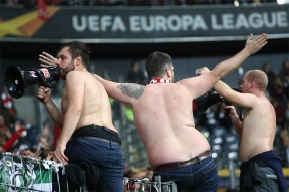 Standard-fans misdragen zich ook na Europa League-wedstrijd in Frankfurt: 4 agenten lichtgewond