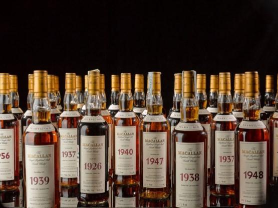 Whiskyfles geveild voor recordbedrag van 1,7 miljoen euro