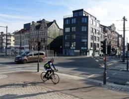 Antwerpen stopt voorlopig met 'vierkant groen' voor fietsers