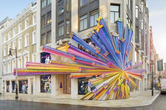 Louis Vuitton drukt zijn stempel op Londen, en hoe