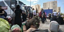 Turkije drong al Syrische asielzoekers terug