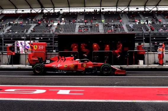 Hamilton snelste tijdens eerste oefensessie in Mexico, speelt Ferrari verstoppertje?