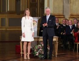 Jarige kroonprinses Elisabeth: 'Het land kan op mij rekenen'