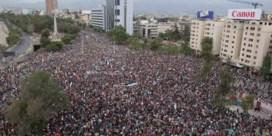 Meer dan miljoen mensen op straat in Chili in een van grootste betogingen ooit