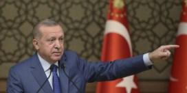 Erdogan zal 'terroristen' uit grensregio verjagen na afloop van staakt-het-vuren