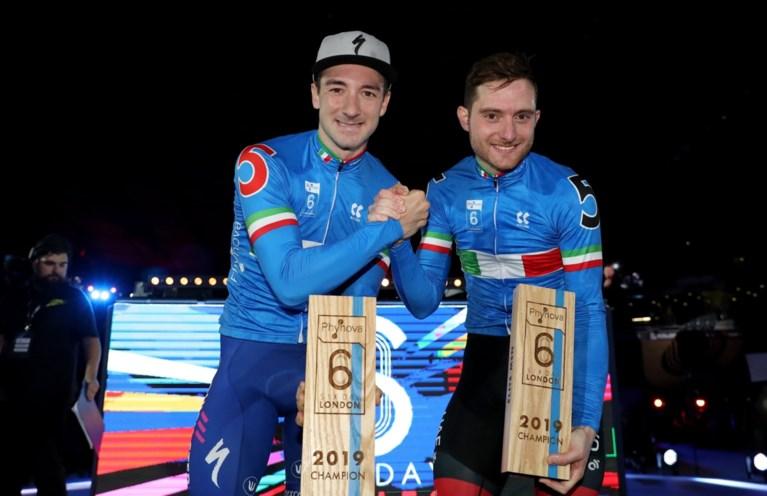 Elia Viviani klopt Mark Cavendish en wint Zesdaagse van Londen met zijn landgenoot Simone Consonni