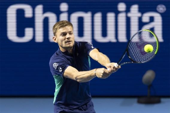 David Goffin treft Grigor Dimitrov in tweede ronde ATP Masters 1.000-toernooi in Parijs