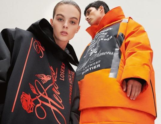 Skiën in een outfit van Raf Simons? Het kan