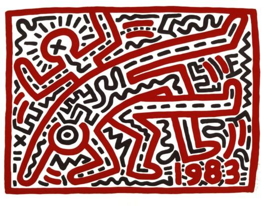 Bozar pakt uit met tentoonstelling van Keith Haring