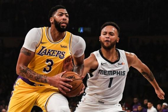 NBA. Anthony Davis gaat Shaquille O'Neal achterna met 40 punten en 20 rebounds voor LA Lakers
