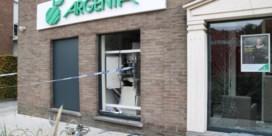 Argenta bant cash na nieuwe zware plofkraak