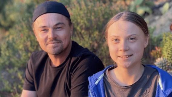Leonardo DiCaprio: 'Dankzij Greta ben ik optimistisch over de toekomst'