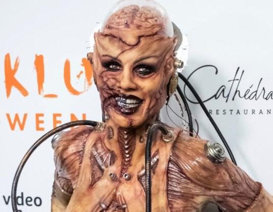 Heidi Klum maakt weer indruk op Halloween