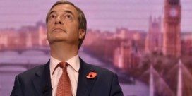 Farage zelf geen kandidaat bij vervroegde verkiezingen