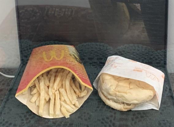 IJslander test hoelang fastfood van McDonald's meegaat
