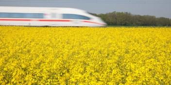 Internationale treinrit geeft beduidend meer comfort dan een vlucht