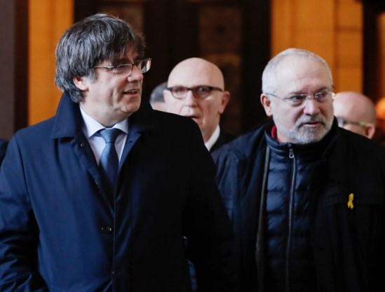 Spanje schrijft aanhoudingsbevel uit voor twee Catalaanse separatisten in België