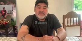 Maradona ontkent claim dochter: 'Nee, ik ben niet aan het sterven'