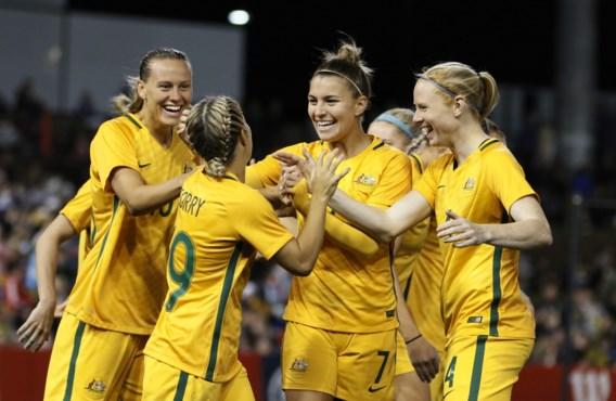 Australische voetbalvrouwen zullen evenveel verdienen als mannen