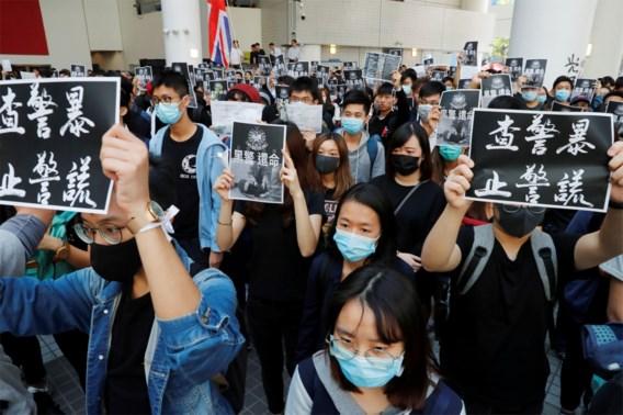 Drie parlementsleden opgepakt in Hongkong