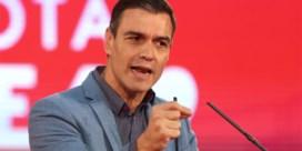 Spanje stemt met de middenvinger