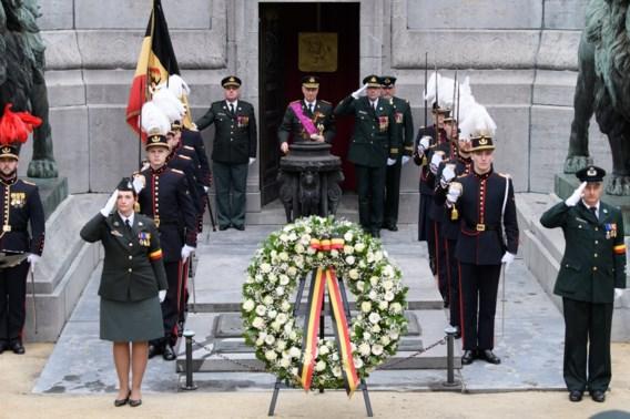 Koning Filip herdenkt Wapenstilstand in Brussel