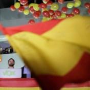 Spanje heeft gestemd met de middenvinger