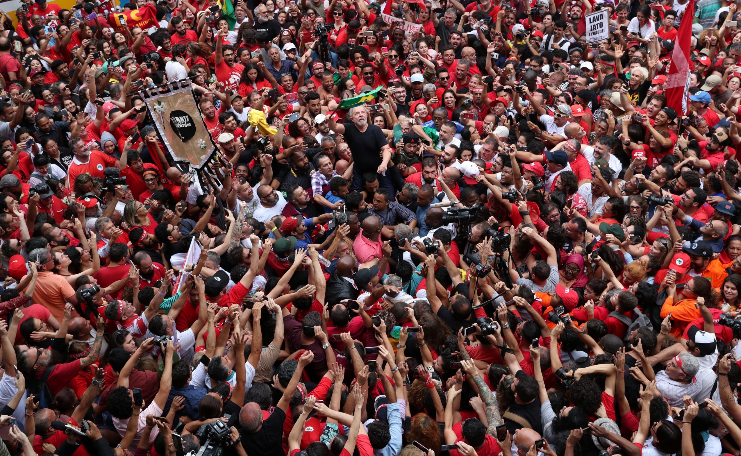 vandaag Nu Lula vrij is, verandert alles - De Standaard