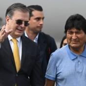 Boliviaanse ex-president Morales komt toe in Mexico